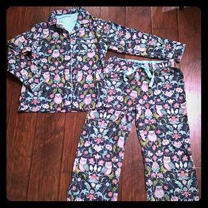 Flannel Owl Pajamas